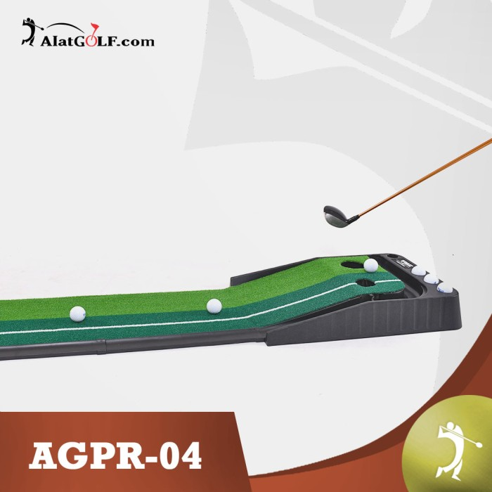 harga Practice putting mat karpet golf (automatic return) - standart Tokopedia.com