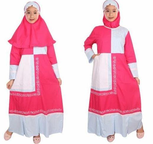 Fayrany Busana Muslim Anak Gamis Warna Fgw-007 *Kiddostore*