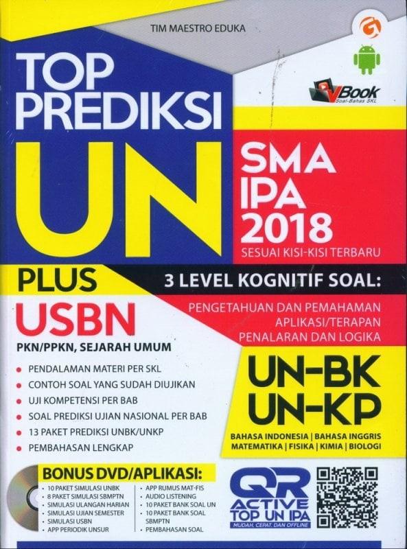 PREDIKSI TOP Top Prediksi UN Plus USBN SMA IPA 2018