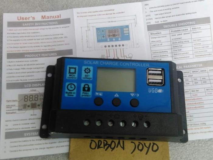 harga Bcr controller solar cell panel surya contoller Tokopedia.com