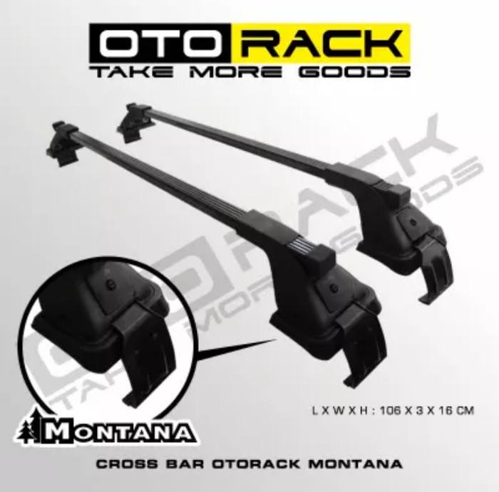 harga Cross bar jepit body montana mobil rush tanpa roof rail Tokopedia.com