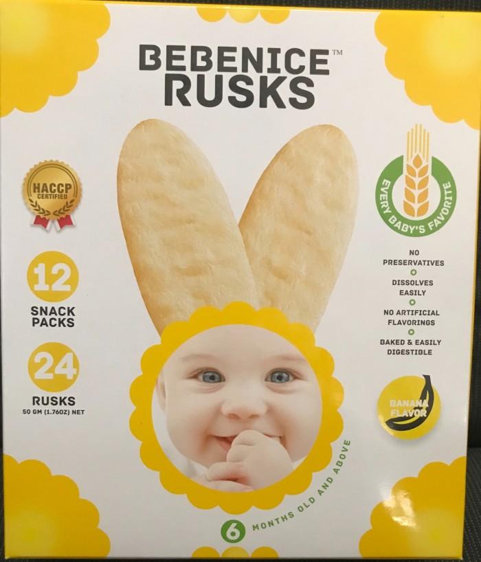 harga Bebenice rusks banana flavor 6+ 50gr Tokopedia.com