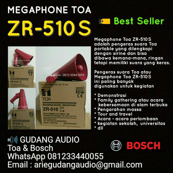 harga Pengeras suara / megaphone toa zr-510s (sirine) Tokopedia.com