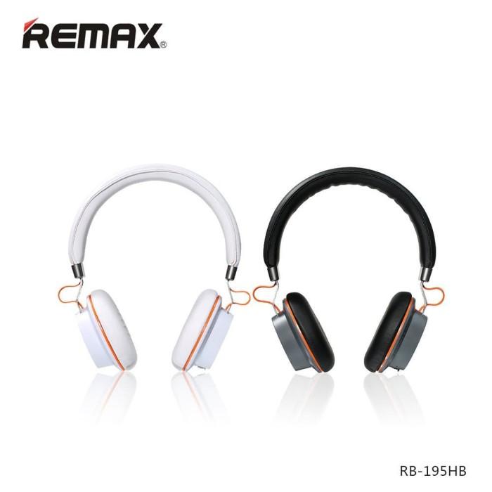 harga Remax bluetooth headphone 195 hb hitam dan putih Tokopedia.com