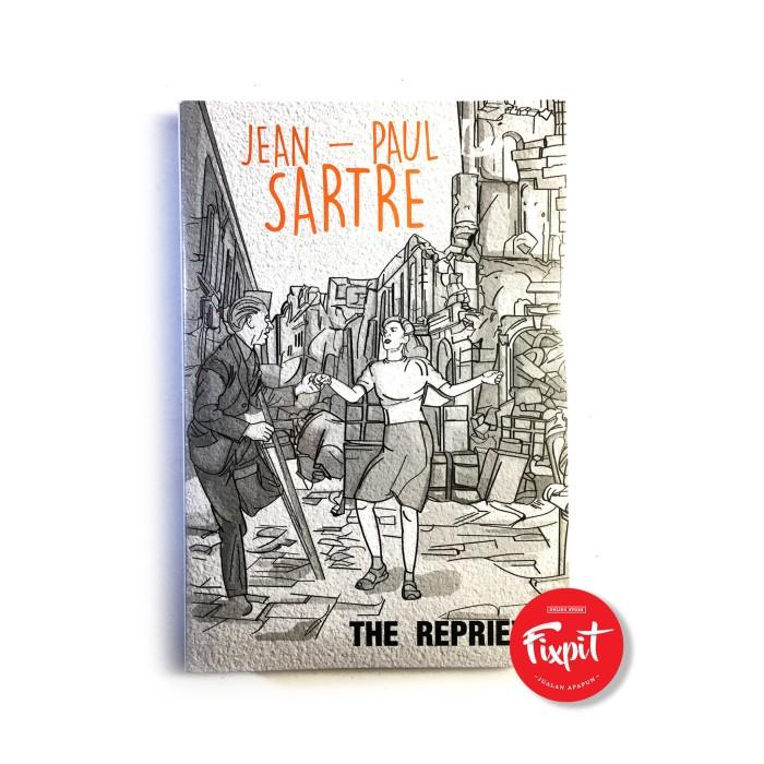 Buku novel The Reprieve - Jean Paul Sartre ASLI