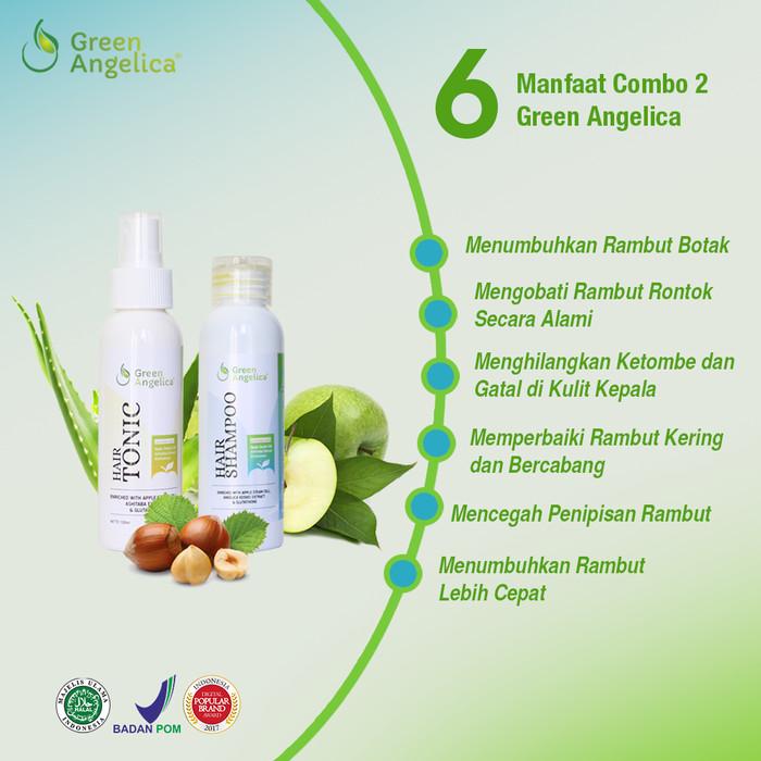 harga Green angelica obat rontok & penumbuh rambut alami & bpom Tokopedia.com