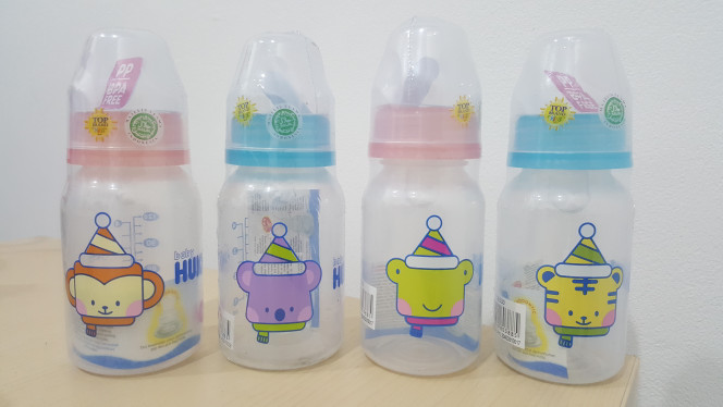 harga Botol susu bayi huki pp sp so 120ml dot ortho gepeng bpa free Tokopedia.com