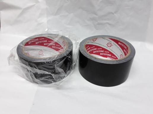 Foto Produk Lakban kain hitam 2 inch x 11 meter / cloth tape 48mm x 11 meter dari Dunia Tape