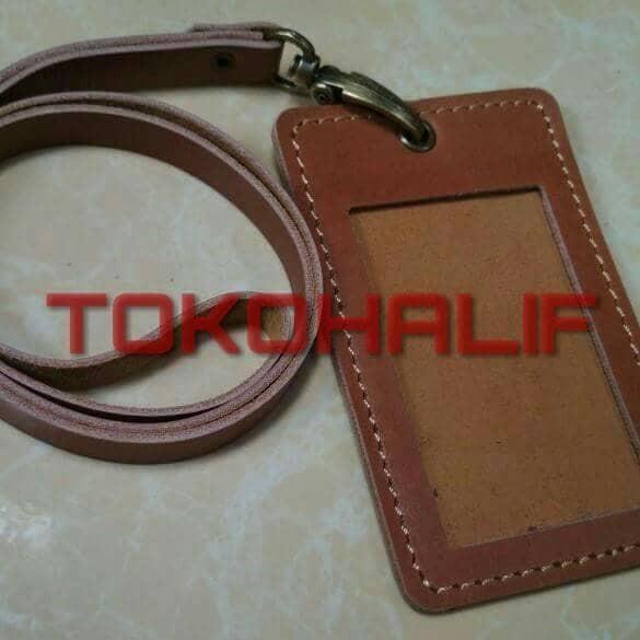 harga Id card holder kulit / tempat id card kulit / tempat kartu kulit Tokopedia.com