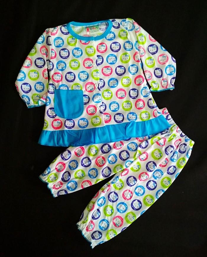 Baju tidur bayi setelan / Piyama bayi setelan murah meriah - Syifan1B
