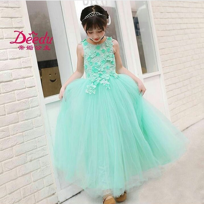 GAUN ANAK PESTA IMPORT REMAJA 6-14TH TOSCA