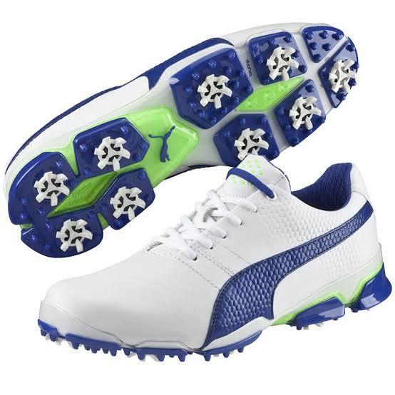 harga Sepatu golf puma titantour ignite white blue original Tokopedia.com