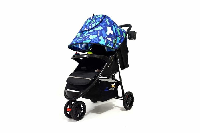 harga Stroller baby labeille roda 3 flour Tokopedia.com