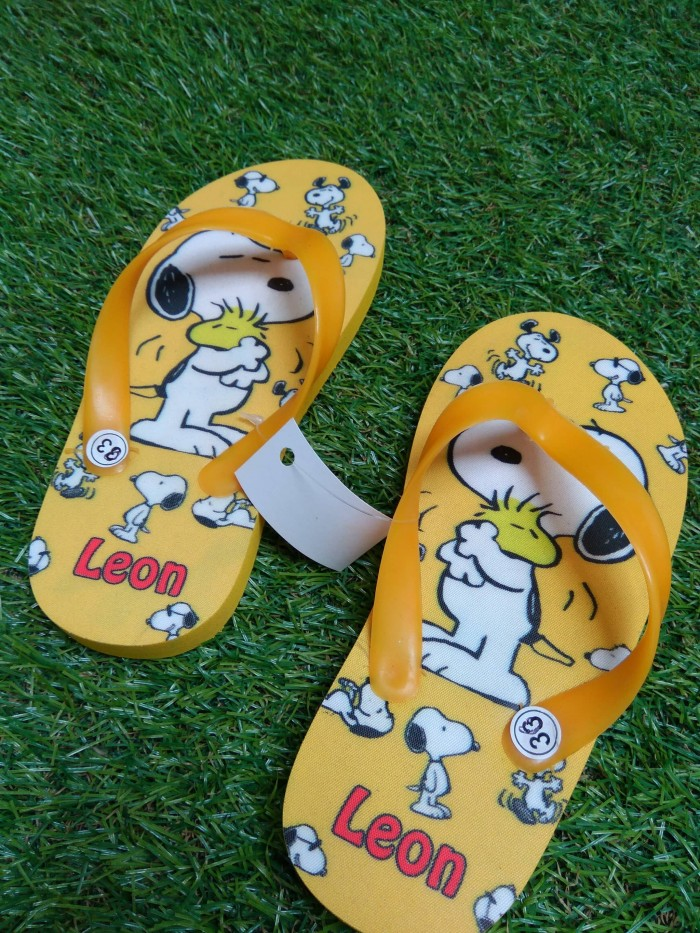 Sandal anak snoopy anak cewe cowo sancu sandal lucu cute unik
