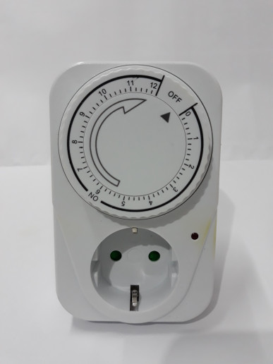 Foto Produk Kaiser Stopkontak Timer 12 Jam-Stop Kontak Timer 12 jam dari Surya Elektrikal