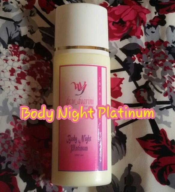 harga Body night platinum dr. widya / dr. widyarini skincare Tokopedia.com