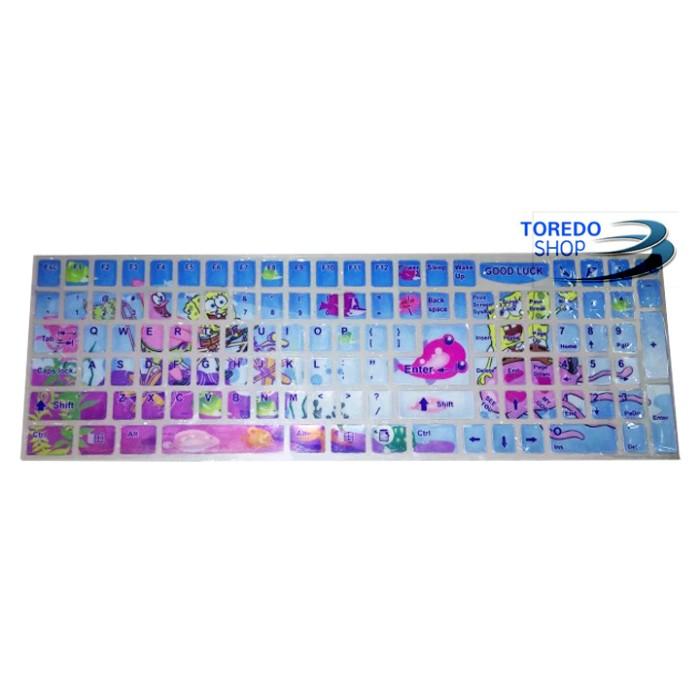 harga Keyboard sticker / stiker keycaps keyboard notebook / laptop / pc Tokopedia.com