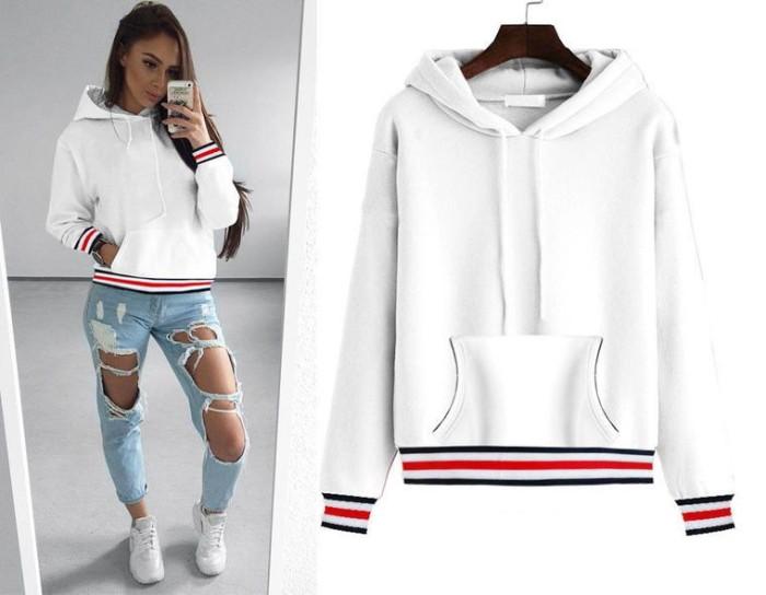 harga Baju sweater wanita white sweater style (l) import original Tokopedia.com