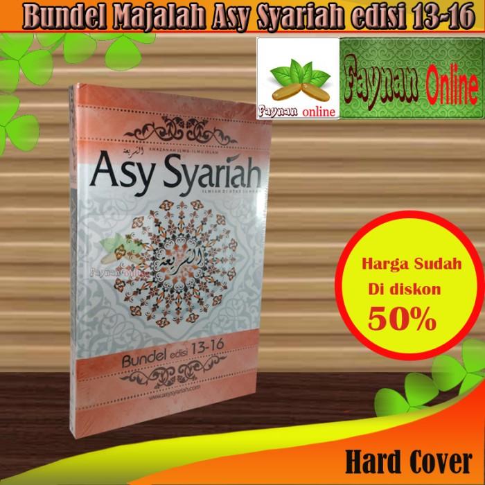 harga Bundel majalah asy syariah edisi 13-16 Tokopedia.com