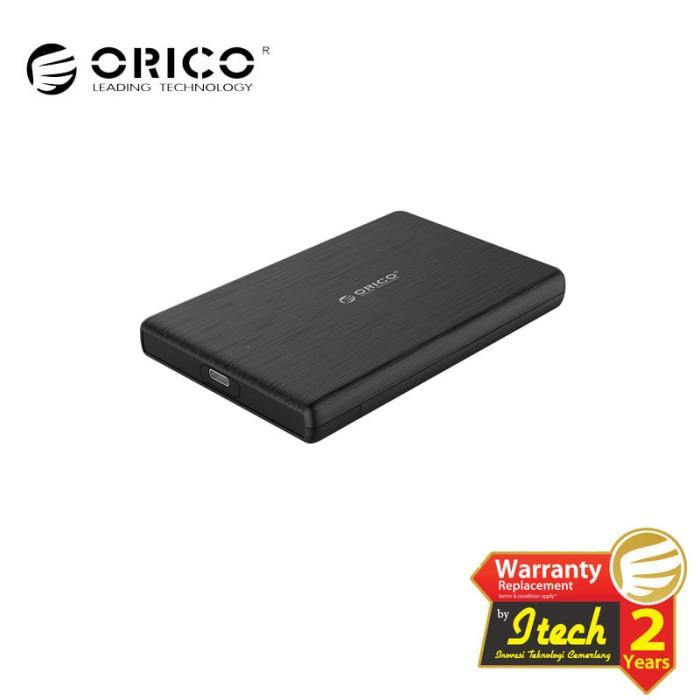 Foto Produk ORICO 2189C3 2.5 inch Type-C Hard Drive Enclosure - Hitam dari ORICO INDONESIA