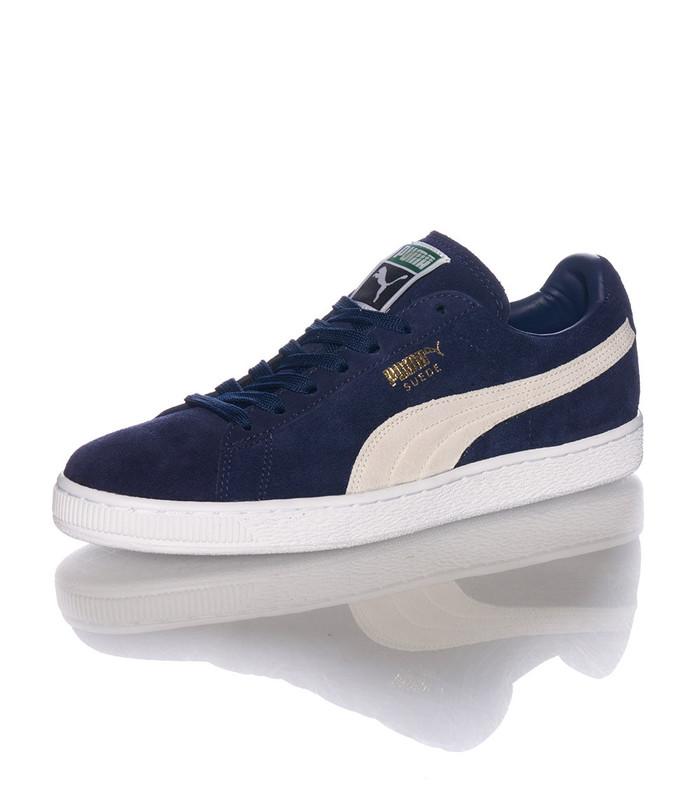 Jual Sepatu Puma Suede Classic Trainers In Navy Blue Peacoat ... 8fb1d1625