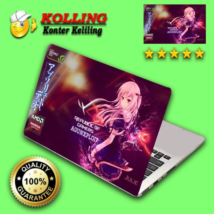 Garskin laptop anime 13 skin laptop stiker laptop