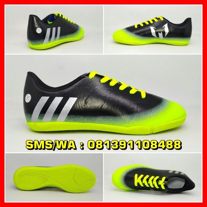 Jual Sepatu Futsal Anak Adidas Messi Hitam Hijau Putih Kids Terbaru ... 7dda3ade9e