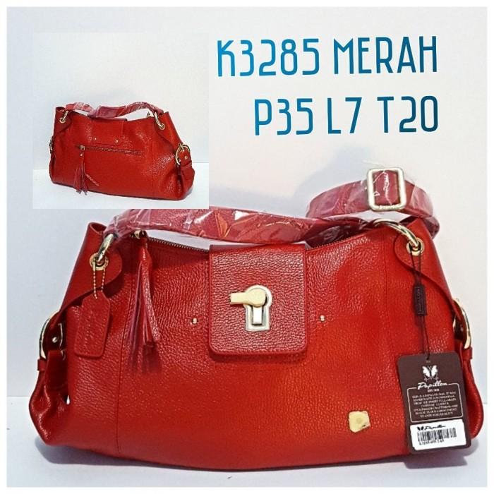 Jual Tas Kulit Papillon Original K3285 Merah - Tas Kulit Papillon ... 272a720eb2