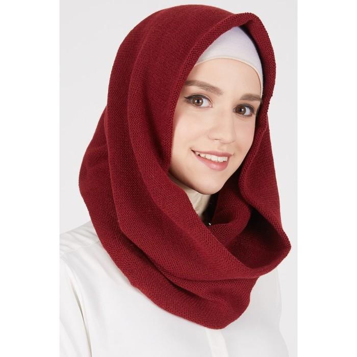 harga Kd 1018/ scarf hijab instant rajut #2 | jilbab instan | hoodie Tokopedia.com