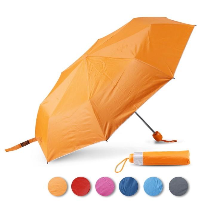 Payung lipat loko silver. lapisan uv teduh anti panas & hitam
