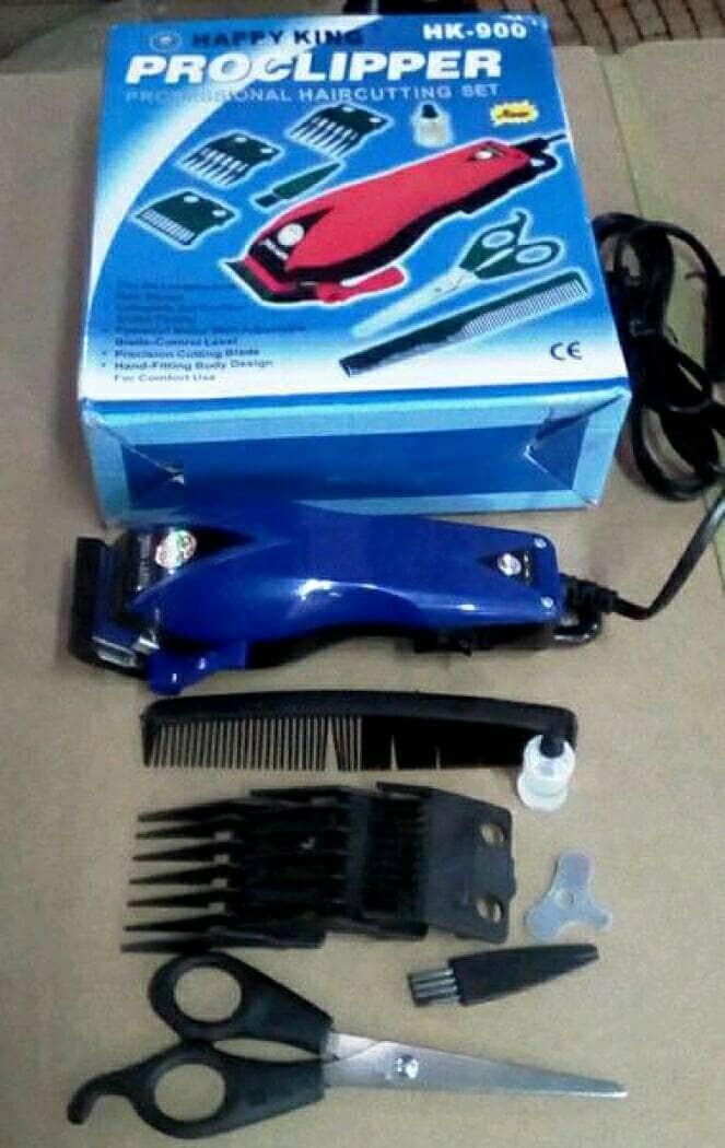 harga Alat cukur potong rambut happy king / hair clipper hk 9000 Tokopedia.com