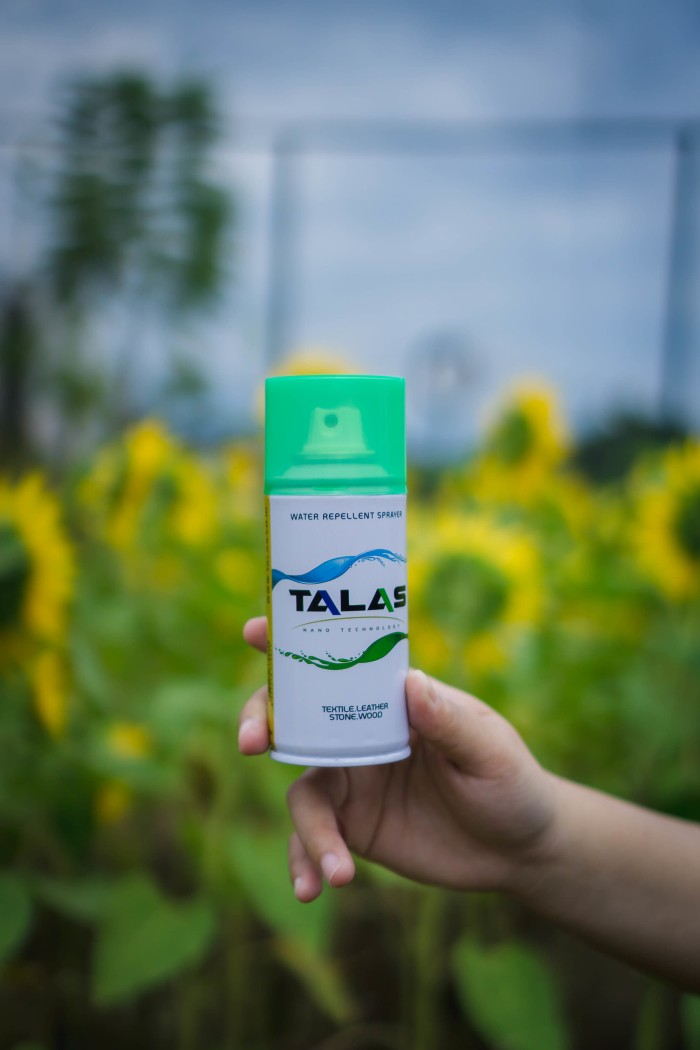 Talas Waterproof Spray | Water Repellent Spray Anti Air Dan Noda