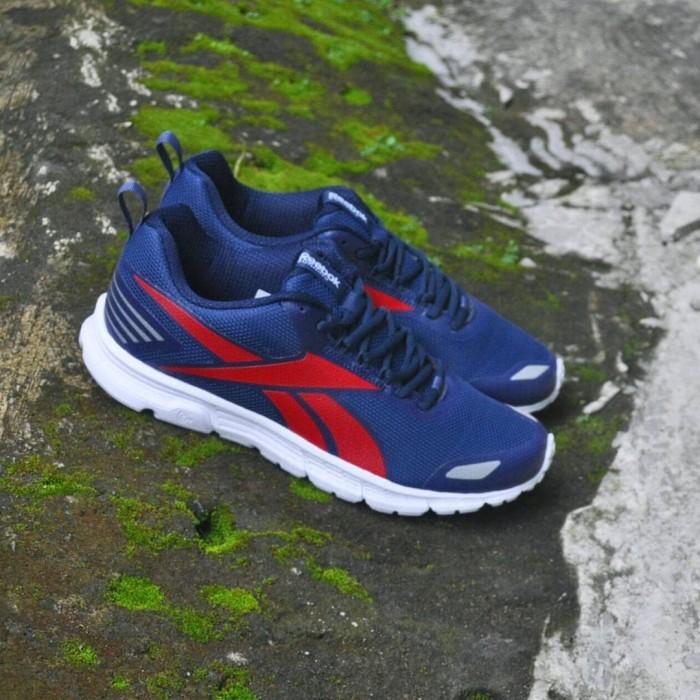 Jual Sepatu Casual Original Reebok Tripellahll Navy Midnight Red ... 6d35297451