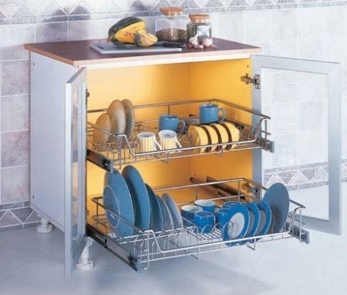 Jual Kitchen Set Rak Piring Gelas Laci Drawer Taco 017 I Jd