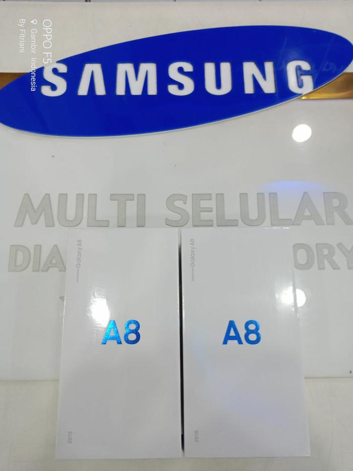 Samsung Galaxy A8 2018 Grs Resmi Samsung Indonesia SEIN - Hitam