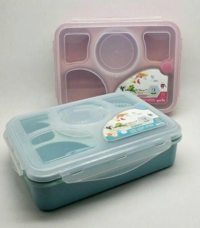 Lunch Box Kotak Makan Sup Yooyee 5 Sekat Bento