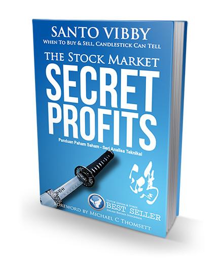 Foto Produk Belajar Saham - Buku Saham Terlaris Candlestick The Secret Profits dari Ilmu Kepala