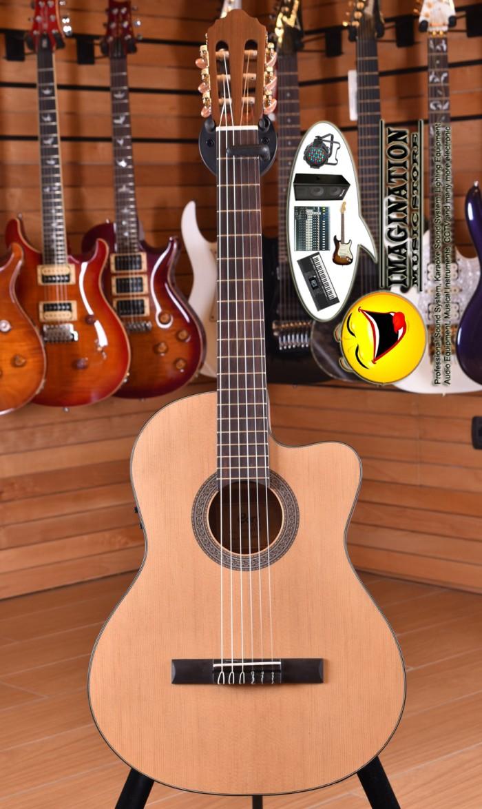 Gitar akustik elektrik cort ac120ce op