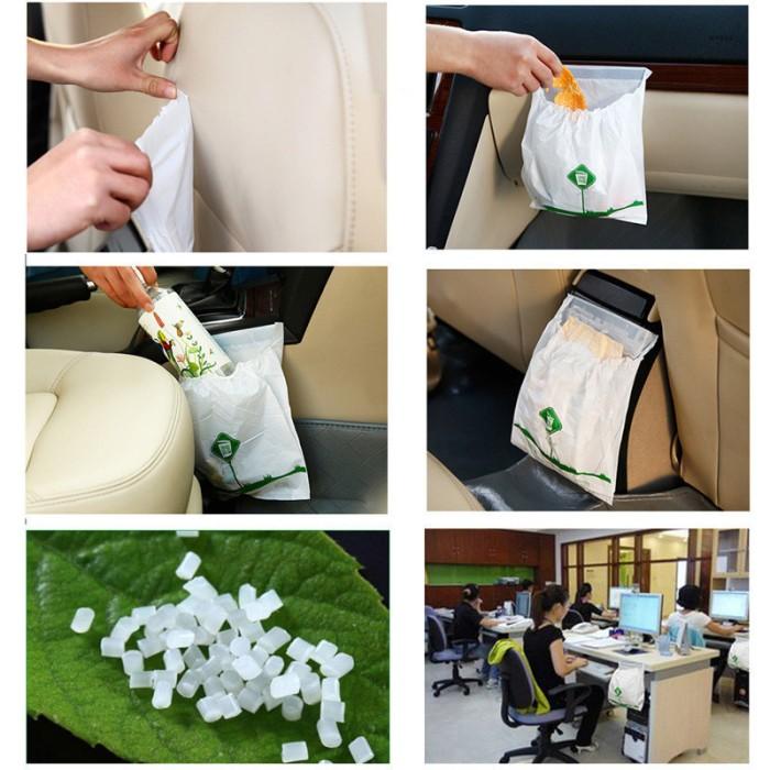 harga Tempat kantong plastik sampah khusus untuk mobil disposable Tokopedia.com