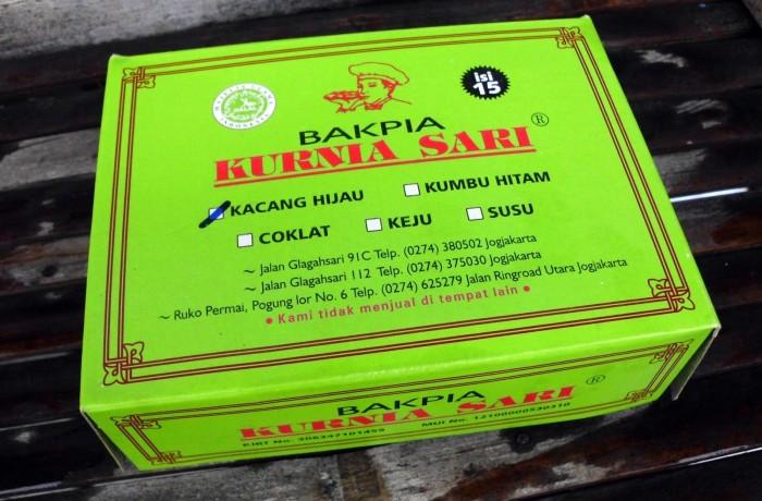 harga Bakpia jogja/bakpia kurnia sari/bakpia premium/bakpia isi 15 Tokopedia.com