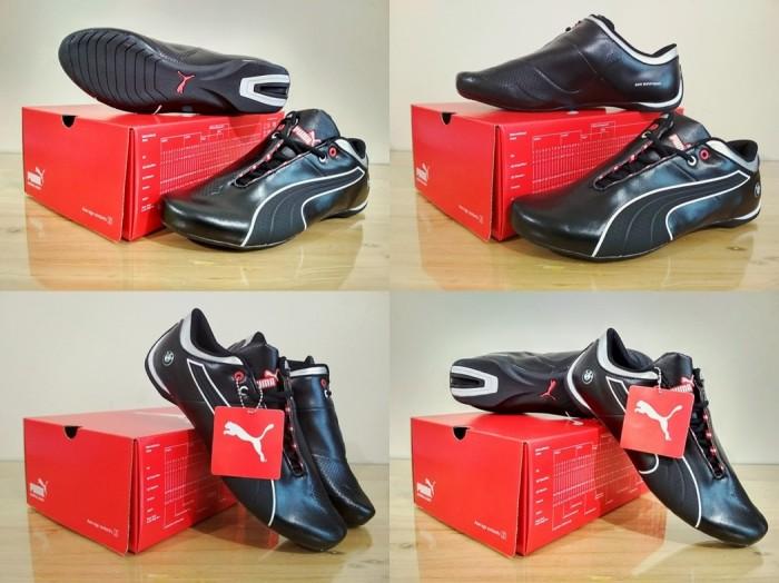 Sepatu puma casual   sneakers   olahraga bmw future cat (black) d55e267e0d