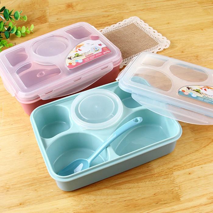 Yooyee lunch box kotak makan sup sekat 5 untuk bento set