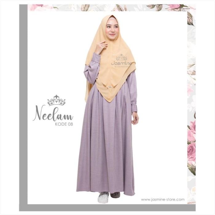 Jual Gamis Jasmine Neelam Dress 08 Baju Gamis Wanita Busana Muslim