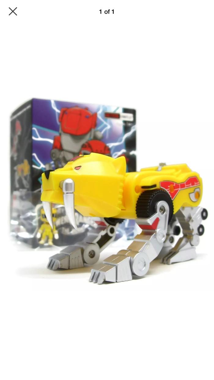 Jual Mighty Morphin Power Rangers Action Vinyl Sabertooth Zord Mmpr Kab Bekasi Avn11