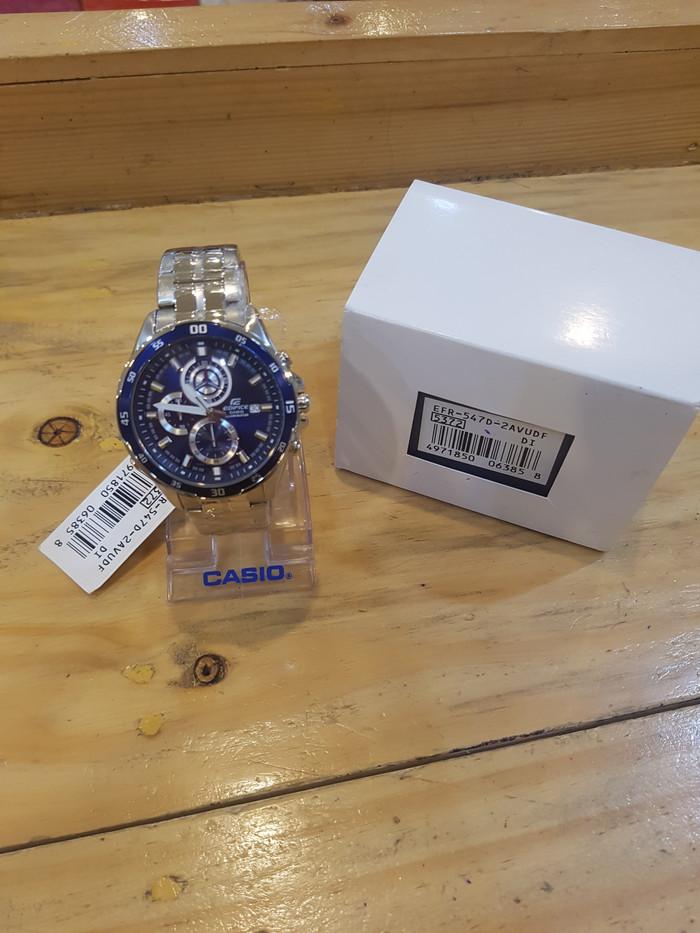 harga Jam Tangan Casio Edifice Efr-547d-2avudf Tokopedia.com
