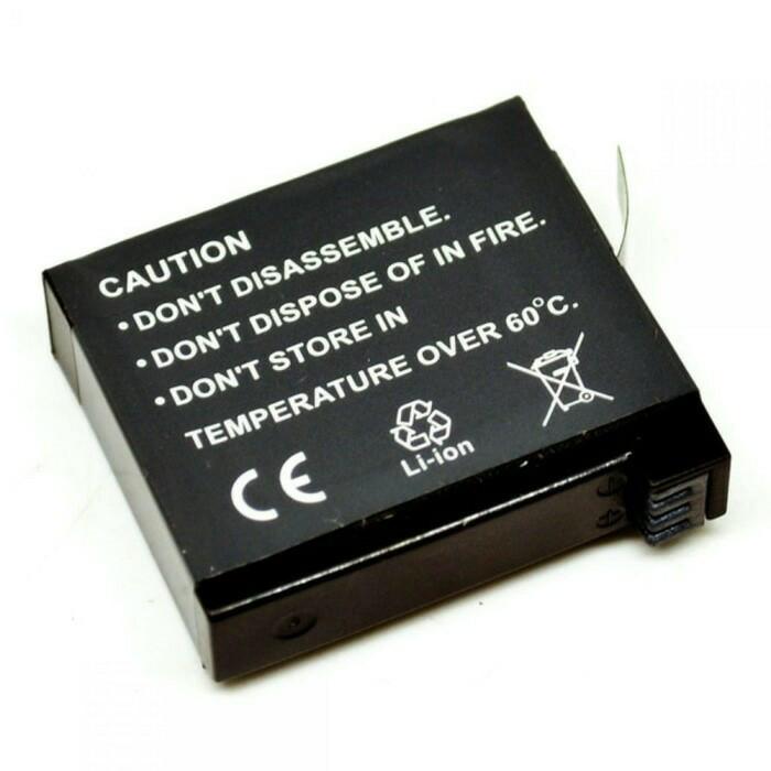 harga Baterai ahdbt-401 3.8v kapasitas 1160mah kamera gopro hero 4 batre Tokopedia.com