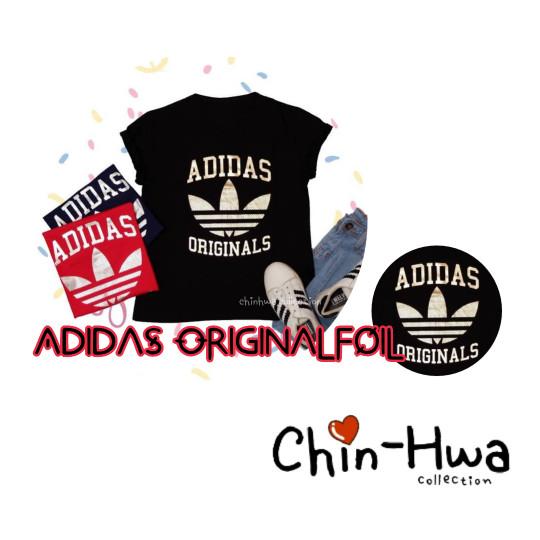Kaos Adidas Original Foil Allsize