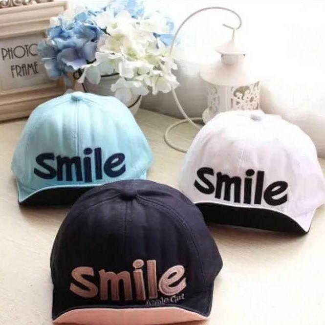 Topi Anak Korean Smile harga Topi Anak Korean Smile Tokopedia.com a8b45d1236
