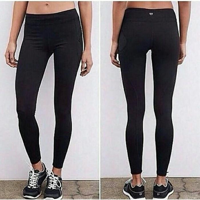 Jual Supplier Grosir Legging Forever 21 Yoga Gym Pilates Black Jakarta Barat Sportyspot Tokopedia
