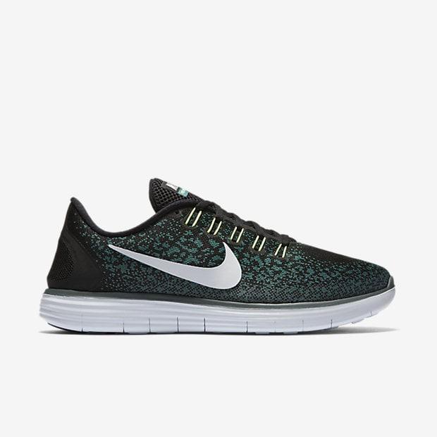 6913161ad50f2 Jual Sepatu Running Lari Nike Free RN Distance Black Original Asli ...